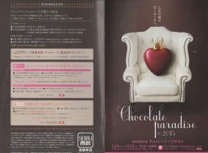 ◇パンフ-チョコレートパラダイス