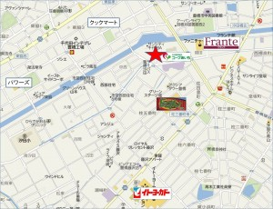 ◇競合店地図ラ・ムー豊橋大黒天物産 (155)