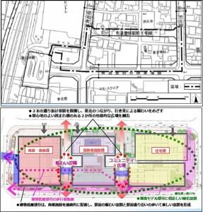 ◇豊田市駅前通り北地区 配置図