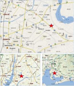◆ゲンキー二本木店地図