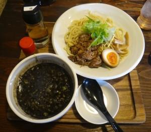 ★ブラックつけ麺。麺屋たけぞう(東海市)20150314 (12)