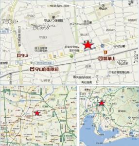 ◆地図 ピアゴ守山