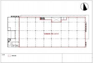DCMカーマ瀬戸本館 2階平面図