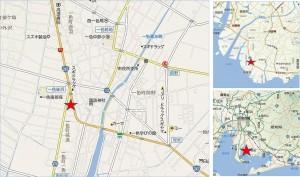 ◇ゲンキー一色南部店 地図
