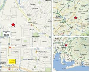 □平和堂春日井庄名店地図