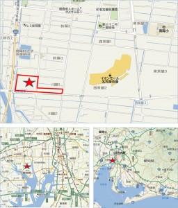 ◆地図東京インテリア家具名古屋本店
