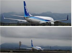◆飛行機ANA 20150411静岡空港 (11)