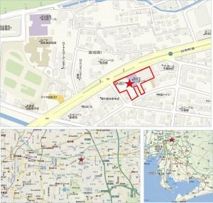 ◆地図 ドン・キホーテ(仮称)千種新西店舗