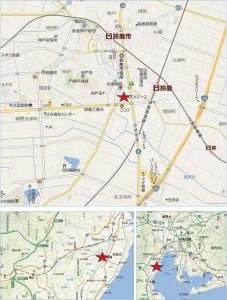 ◆ぎゅーとら鈴鹿エース店 地図