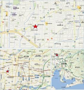 ◆ピアゴ岐阜宇佐店 地図