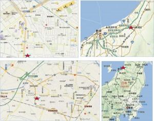 ◆フレスポ新発田地図