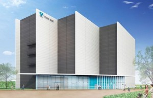 港明商業施設エネルギーセンターパース