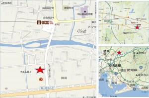 ■地図 Vドラック御嵩東店20150423