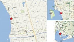 地図●ゲンキー熊野店