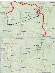 茶臼山◆ロードマップ