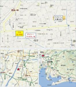 ◆三心玉ノ井店地図