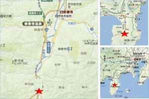 マックスバリュエクスプレス天城湯ヶ島店地図●