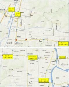 ■地図-2 ゲンキー太郎丸北郷店20150530 (1)