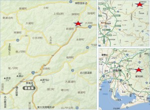◇地図足助獣肉加工センター山恵
