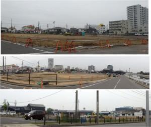 ●運河沿い空き地 ミツカン本社周辺工事20150529 (5)