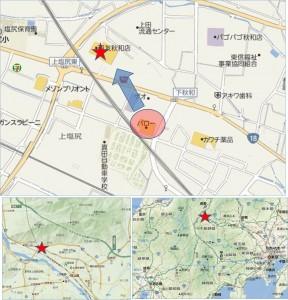 ●地図バロー秋和店 (1)