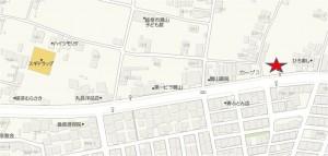 ◆アップ地図-クスリのアオキ鷺山店20150530 (1)