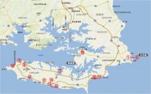 地図 志摩半島