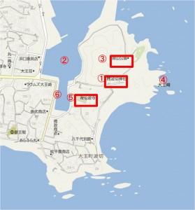 地図 大王崎