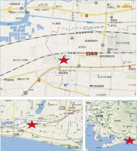 バロー高塚店地図●