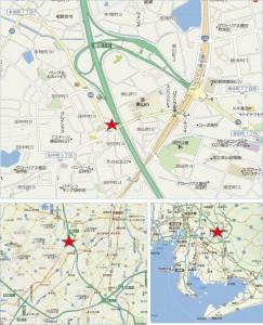 ■地図 カネスエフェルナ豊田田中町店
