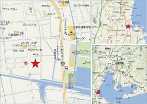 □トライアル津藤方店地図