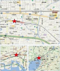 ●エビスタ西宮地図