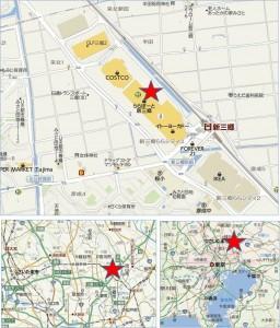 ◇地図-ららぽーと新三郷