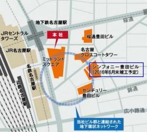地下道地図