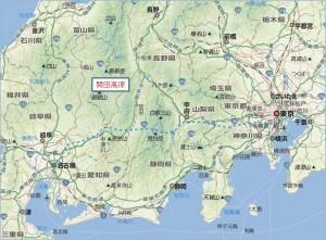 ◆長野県地図 開田高原中心-2