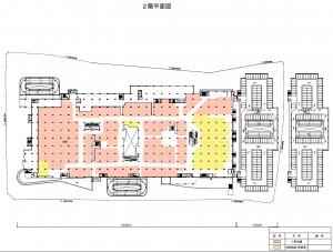 イトーヨーカドーアリオ日進赤池  2階平面図