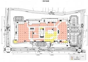 イトーヨーカドーアリオ日進赤池  1階平面図