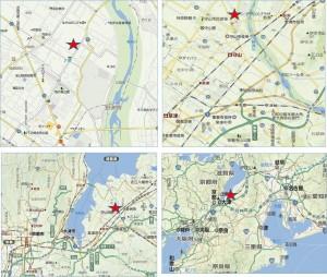 ◆地図バロー守山小島店
