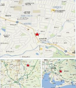 □ 地図やまのぶ野見山店