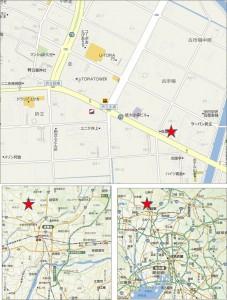 ■地図 ゲンキー折立店20150926