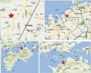 ◆イオンタウン宇多津 地図