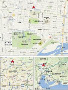 ◆地図- コープぎふ長良店