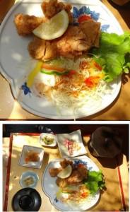 ★料理 赤鶏から揚げ定食 花のいわや亭20150814 (32)