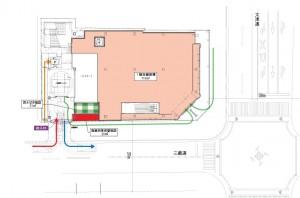 栄三丁目 建物配置図