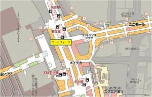ゲートウォク地下地図