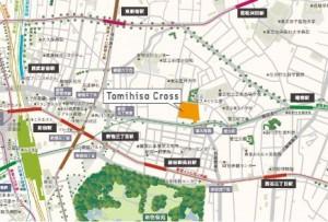 アクセス マップ 地図 イトーヨーカドー新宿富久店