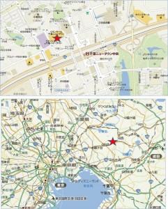 ◆イオン千葉ニュータウン店 地図