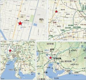 ■地図 カネスエ平和店