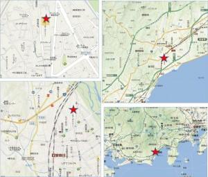 バロー東新田店 地図◆