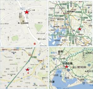 ◆地図 カネスエフェルナ細口二丁目店